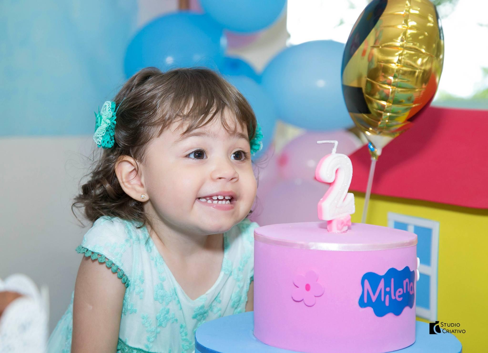 Milena 2 anos